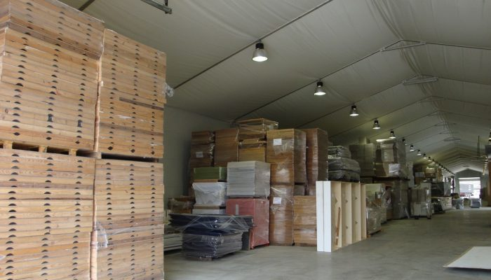 Temporary Storage Structure