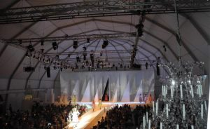 Temporary Structures for Fashion Shows
