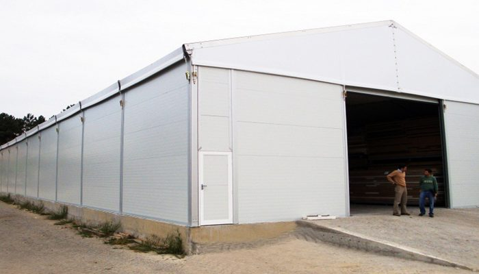 Temporary Warehouse Structure