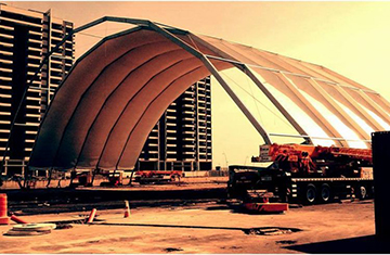 The Wave Temporary Structure Rentals