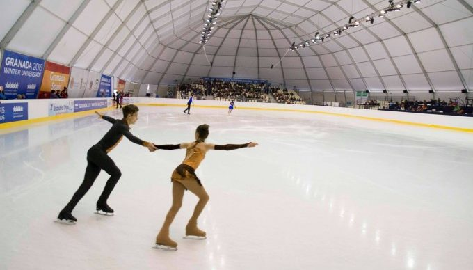 Ice Arena Structure Rental