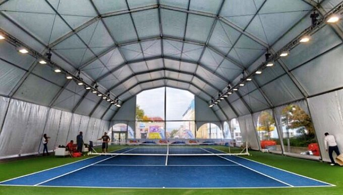 sporting tent structures
