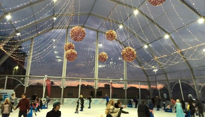 Ice Arena Structure Rental