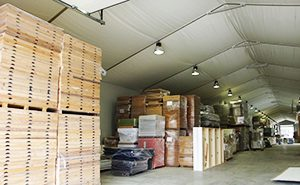 Temporary Warehouse and Storage Structures