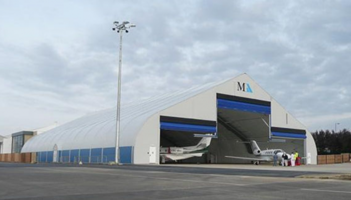Airplane Storage Structures