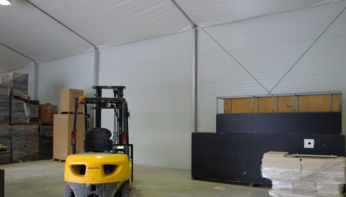 Temporary Structure Rentals for Construction Industry