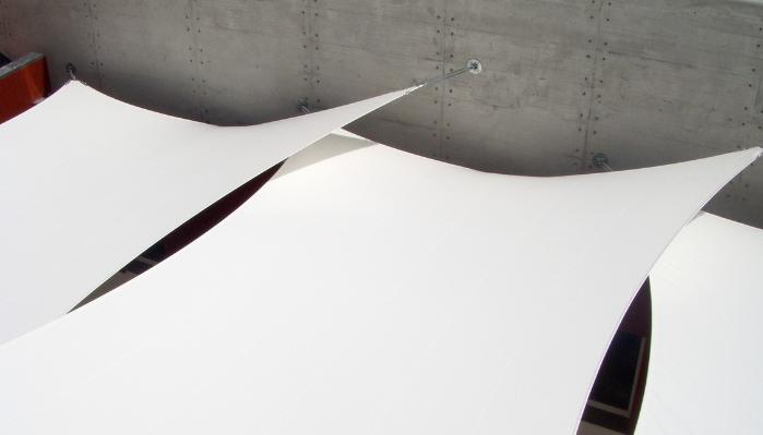 Custom Tension Fabric Textile Architecture