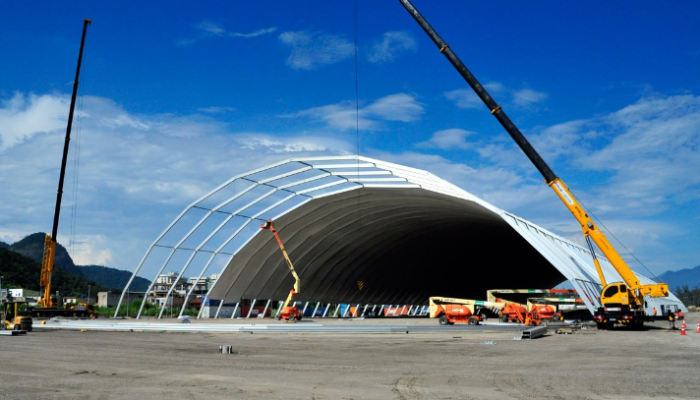 The Wave Temporary Structure Rentals and Sales