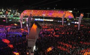 Music and Film Temporary Structure Rentals