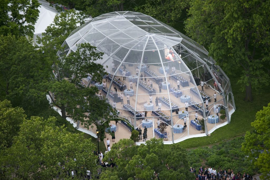 Igloo Fabric Structure Tent