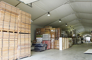 Temporary Structures for Warehouses and Temporary Storage