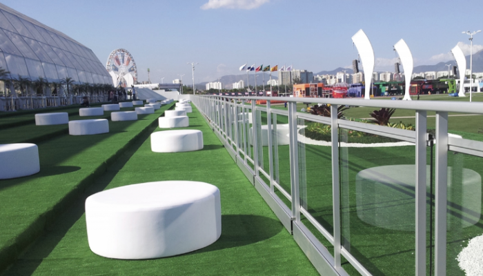 Turf Flooring | Temporary Structures