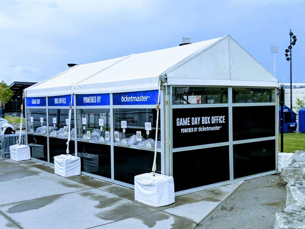16' x 32' Ticket Booth