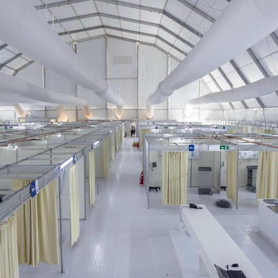 Irmarfer B Covid Hospital Tent